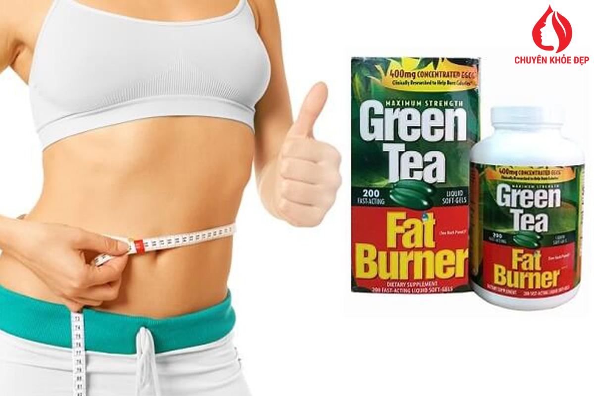 Viên Uống Giảm Cân Trà Xanh Green Tea Fat Burner