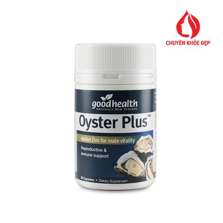 Viên uống tinh chất hàu Goodhealth Oyster Complete tăng cường sinh lý nam 30 viên