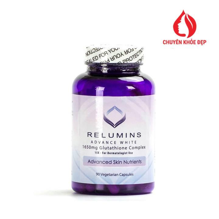 Viên uống trắng da Relumins Advance White 1650mg Glutathione Complex