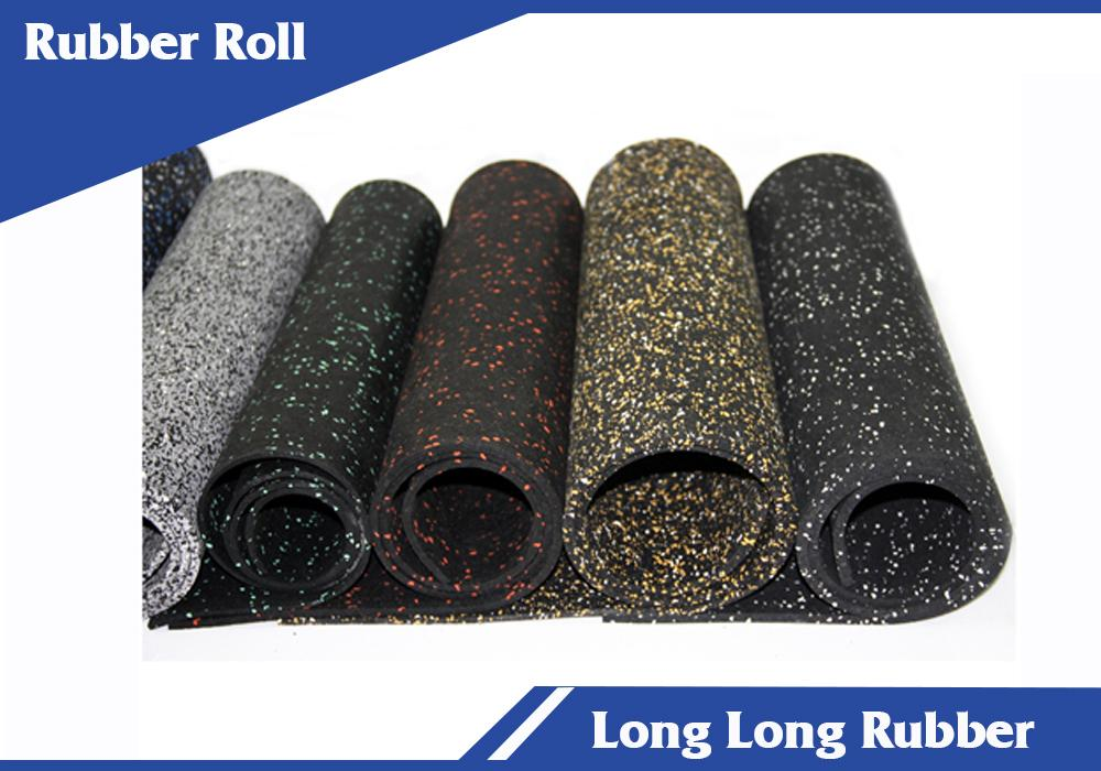 Recycled Rubber Mats intially made from black SBR (the product of the rubber recycling) + EPDM (15-100%) granules allow to make surface one or multi-colored.