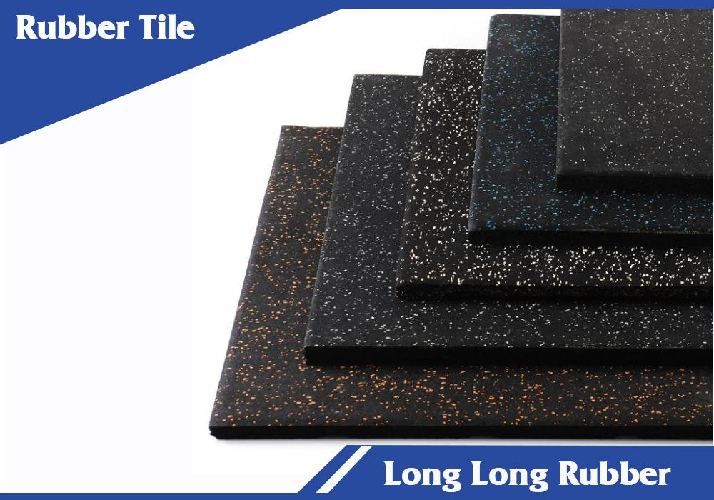 EPDM premium interlocking rubber gym mats
