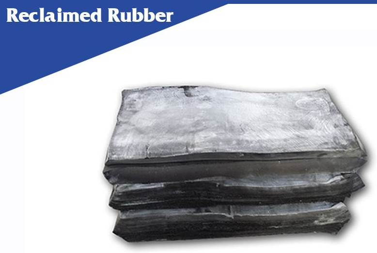 Superfine reclaimed rubber from truck tires