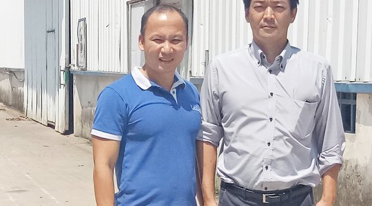 Overseas customers visited our factory in Vinh Phuc, Vietnam.