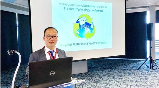 Mr Nguyen Van Thanh - CEO attended at the 6th International Recycled Rubber & Plastic Products Technology Conference in United State 2019