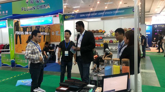 The exhibition with a scale of over 300 booths will gather the most outstanding and advanced-technology sports products