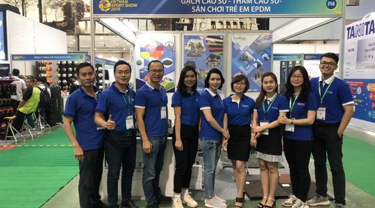 Long Long attended VIETNAM SPORT SHOW 2019 at ICE 14-16/11/2019