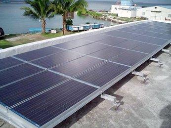 Hệ thống điện năng lượng mặt trời trên đảo Bé Lý Sơn