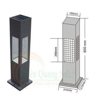 Đèn sân vườn năng lượng mặt trời TQS-CP80