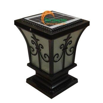 Đèn trụ cổng năng lượng mặt trời TQS-S6501