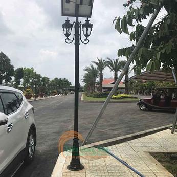 Đèn công viên năng lượng mặt trời TQS-168