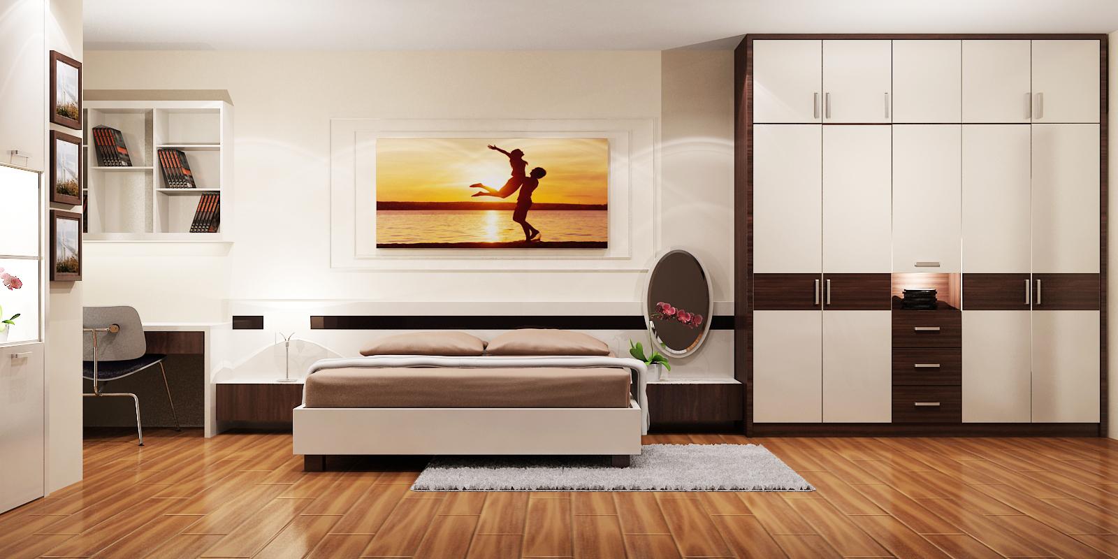 Kết quả hình ảnh cho giường tủ đẹp trong căn hộ