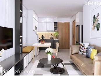 Thiết kế thi công nội thất căn hộ chung cư Carillon Tân Phú