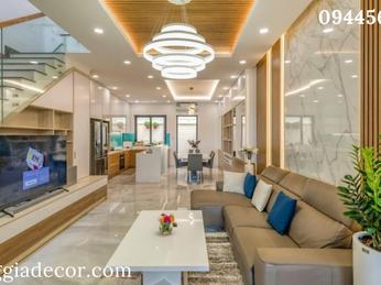 Thiết kế thi công nội thất nhà phố Q9 - A Tâm