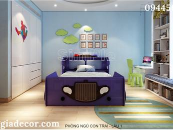 Thiết kế thi công nội thất biệt thự phố - Q9