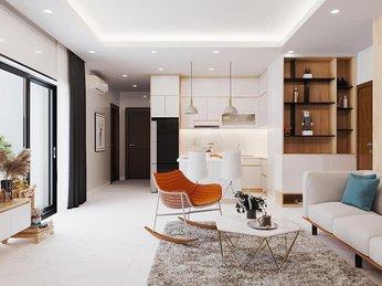 Thiết kế thi công nội thất căn hộ Masteri Q2