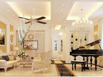 Thiết kế thi công nội thất biệt thự phố Cityland Gò Vấp