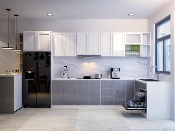 Các mẫu thiết kế tủ bếp đẹp hiện đại