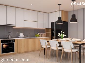 Thiết kế thi công nội thất nhà phố Q2- anh Minh