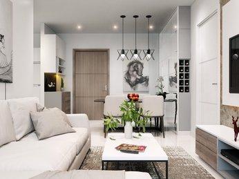 Thiết kế thi công nội thất chung cư Masteri Q2