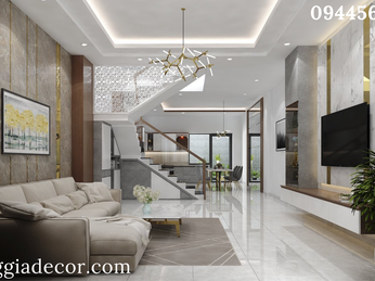 Thiết kế thi công nội thất nhà phố Q Bình Tân