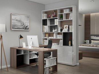 Mẫu thiết kế kệ sách đẹp dành cho căn hộ chung cư