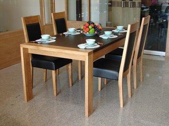 Bàn ăn hiện đại sang trọng dành cho căn hộ chung cư