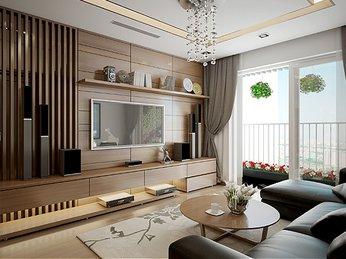 Vách ngăn đẹp dành cho căn hộ chung cư