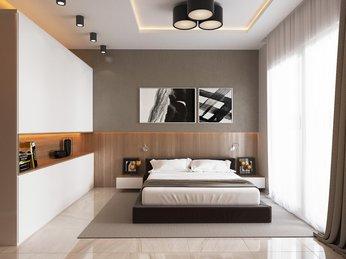 Mẫu giường ngủ gỗ công nghiệp đẹp dành cho căn hộ chung cư