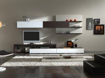 Mẫu kệ tivi hiện đại dành cho căn hộ chung cư