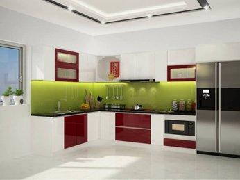 Mẫu phòng bếp sang trọng dành cho căn hộ chung cư