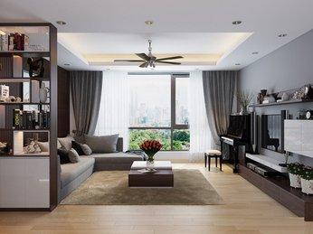 Mẫu thiết kế nội thất chung cư đẹp không thể bỏ qua