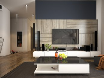Mẫu thiết kế nội thất đẳng cấp dành cho phòng khách
