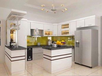 Mẫu tủ bếp đẹp dành cho căn hộ chung cư