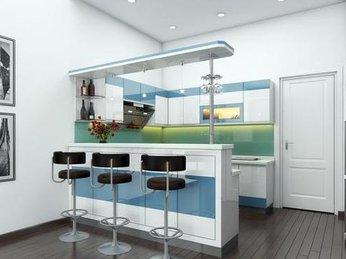 Quầy bar bếp tiện nghi cho mọi không gian