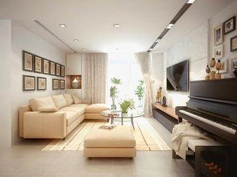 Sofa phòng khách hiện đại dành cho căn hộ chung cư