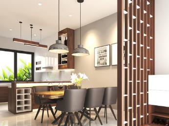 Thiết kế thi công nội thất nhà phố Quận 7- Chị Chi