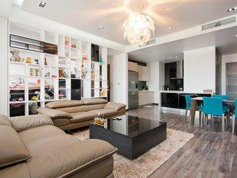 Tủ trang trí đẹp dành cho căn hộ chung cư