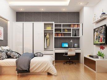 Ý tưởng thiết kế nội thất phòng ngủ dành cho căn hộ chung cư
