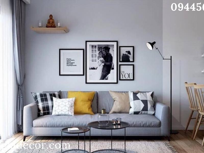 Mẫu sofa phòng khách căn hộ