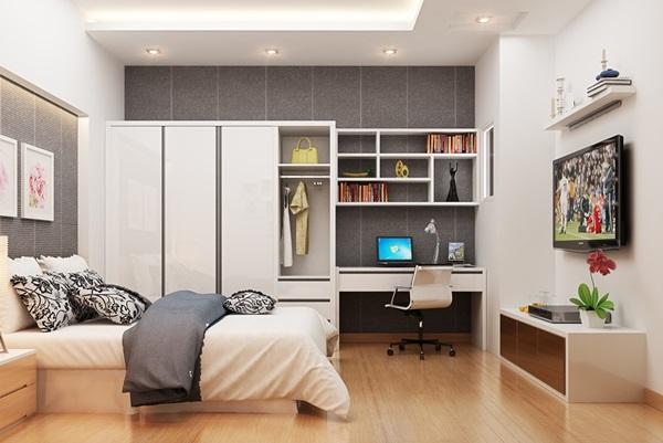 Ý tưởng thiết kế nội thất phòng ngủ dành cho căn hộ chung cư - Khang Gia  Decor