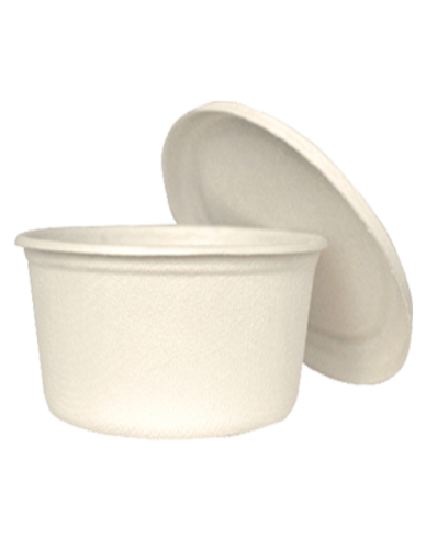 BAGASSE BOWL (include cover)