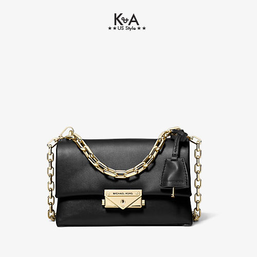 Túi xách Michael Kors hàng hiệu nữ Cece Mini Black Xs Chain Xbody Bag, túi xách Michael Kors hàng hiệu nữ, túi xách Mk mini màu đen dự tiệc, túi xách MK đeo chéo màu đen, giỏ xách Michael Kors mini đeo chéo