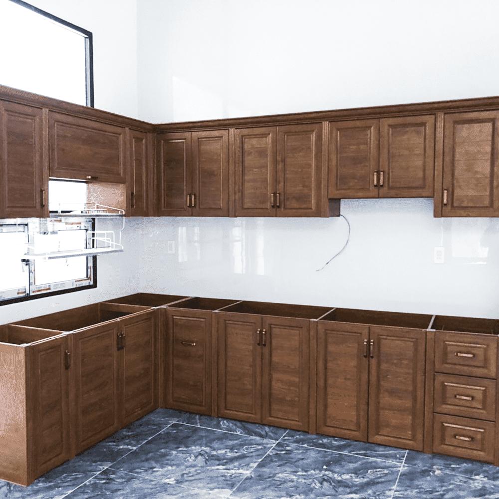 Báo giá và mẫu tủ bếp nhôm kính đẹp mới nhất 2020 – Ưu đãi đến 10%
