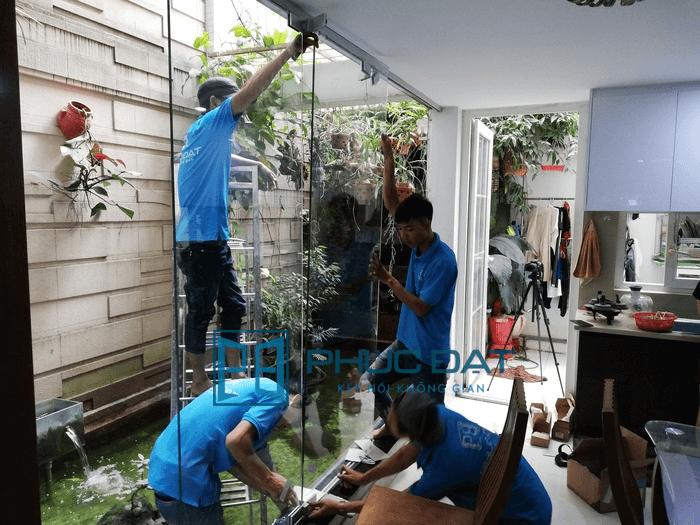 Lắp đặt & Báo giá cửa kính xếp trượt TpHCM & Đà Nẵng (Giá tốt 2020)