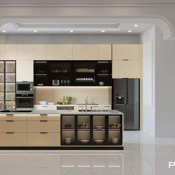 Tủ bếp nhôm cao cấp Phúc Đạt