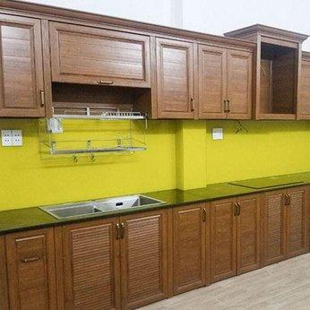 Tủ bếp nhôm Omega
