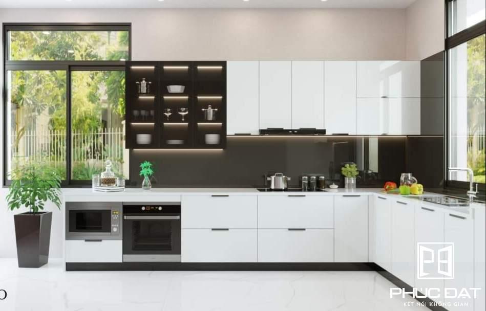 Báo giá tủ bếp cao cấp nhập khẩu giá tốt - 100% khách hàng hài lòng