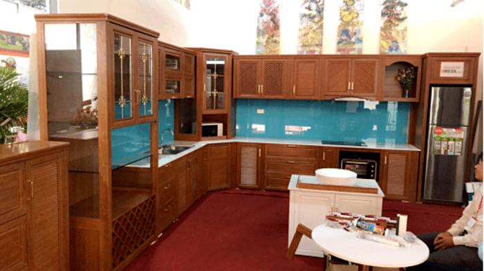 Báo giá Tủ Bếp Nhôm Kính từ 1.2 Triệu/m - Lắp đặt & Bảo hành uy tín