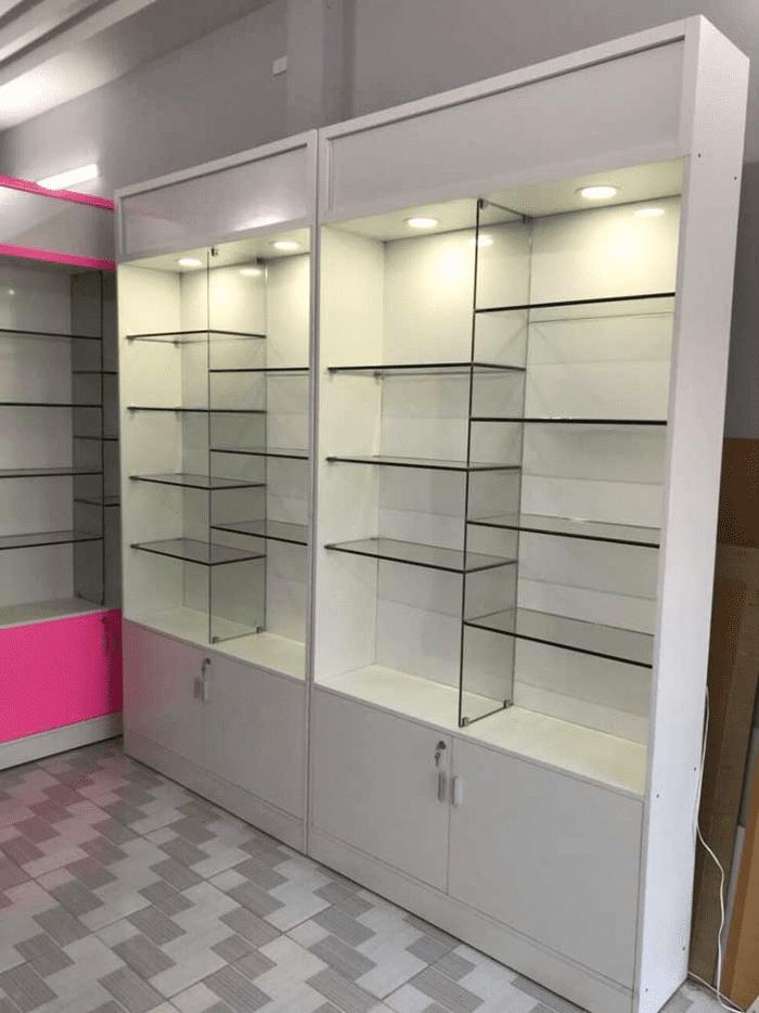 Tủ nhôm kính - Tủ kính trưng bày