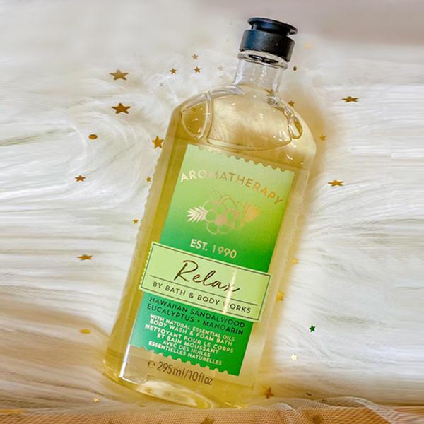 Sữa tắm trị liệu thư giãn đàn hương Relax - Bath and Body Works 295ml